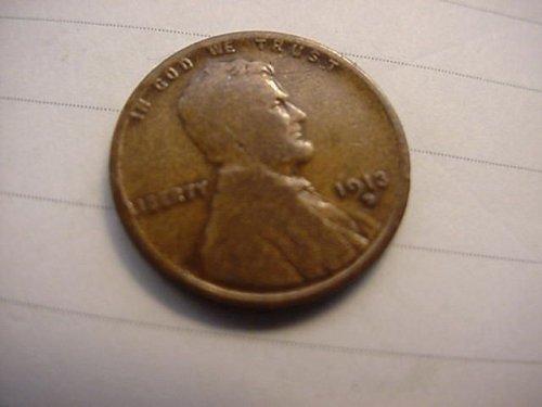 1913d penny