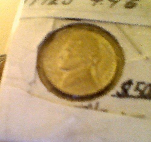 Jefferson Nickel 1942 s 4.4 Grams Rare