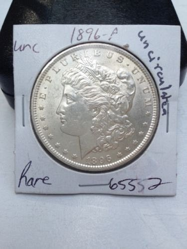 1896 P Morgan Silver Dollar