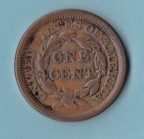 1855 Large Cent      (335)