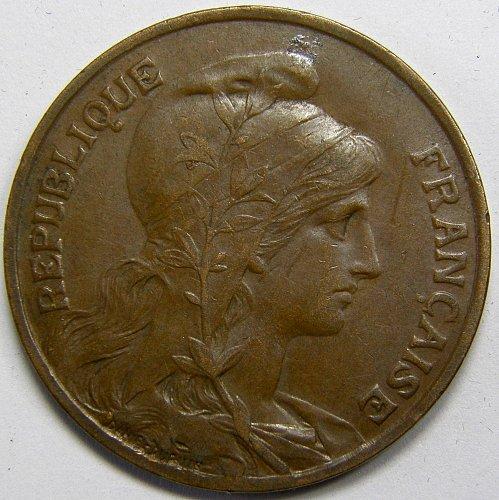 1911 France 10 Centimes