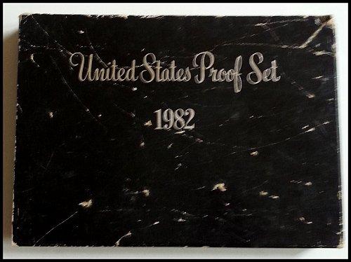 1982 Original 6 Coin U.S. Proof Set - San Francisco Minted: Original Packaging