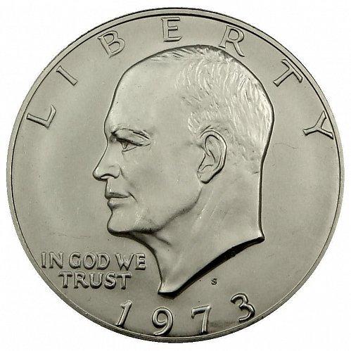 1973 S Eisenhower Dollar