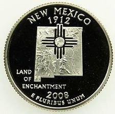 2008 s proof quater NM