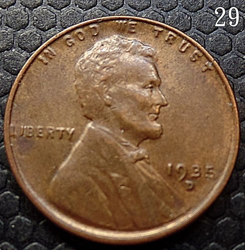 U.S. COIN 1935 D WHEAT CENT