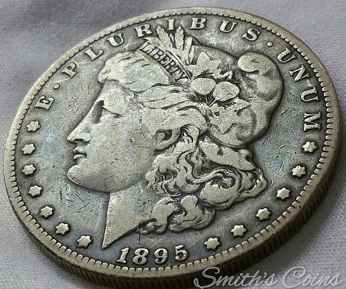 1895 O  Morgan Dollar - VG