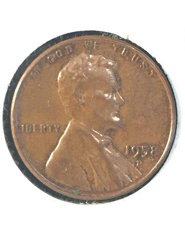 1958 D Wheat Cent