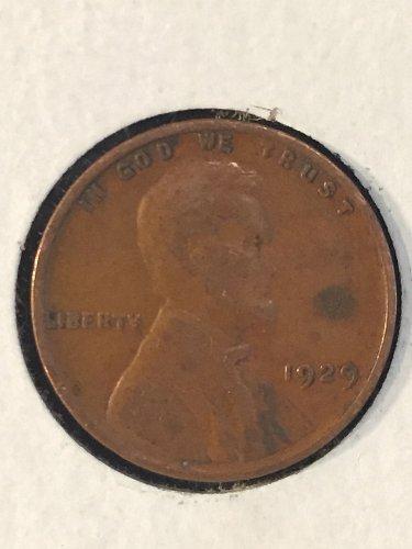 1929 P Wheat Cent