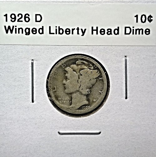 1926 D Winged Liberty Head Dime
