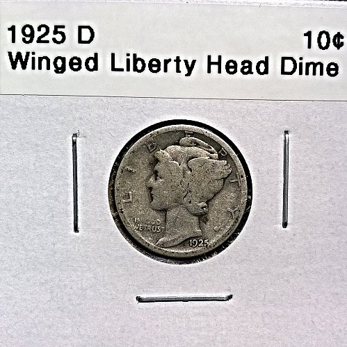 1925 D Winged Liberty Head Dime