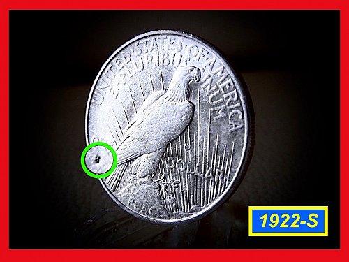 1922-S Prace Dollar •••AU-50  Condition   • • • •   (#5256)