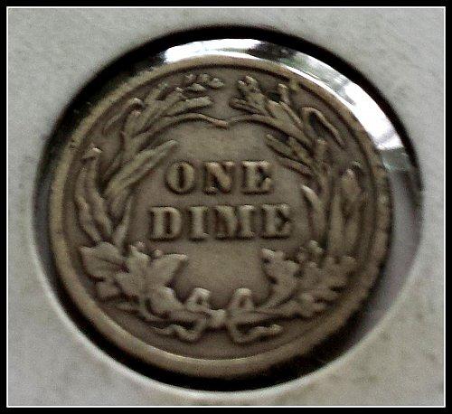 1915 P Barber Dime