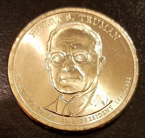 2015-P Harry S Truman Presidential Dollar - From US Mint Roll (6502)