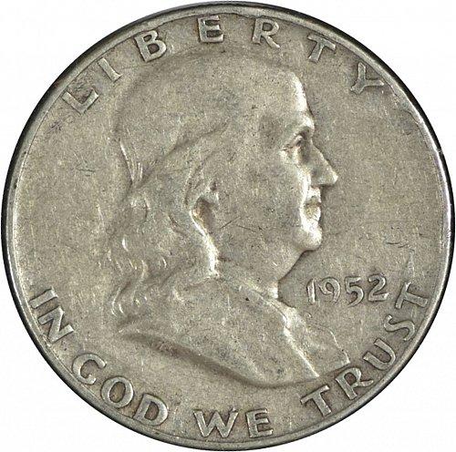 1952 D Franklin Half Dollar, G 04, (Item 267)