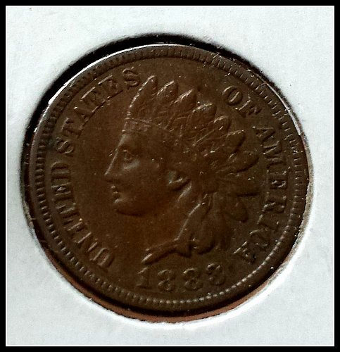 1888 P Indian Head Cent Small Cent