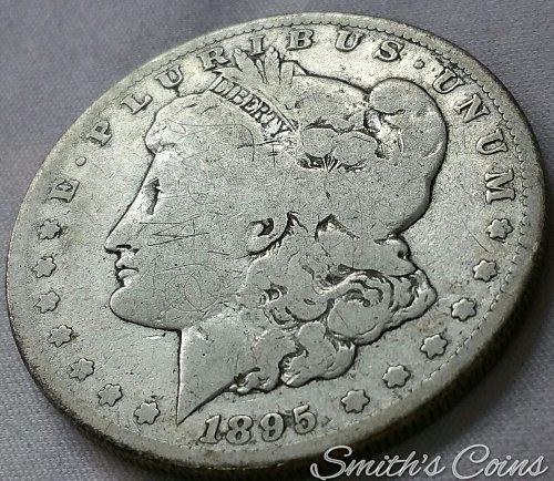 1895 S Morgan Dollar - Net AG