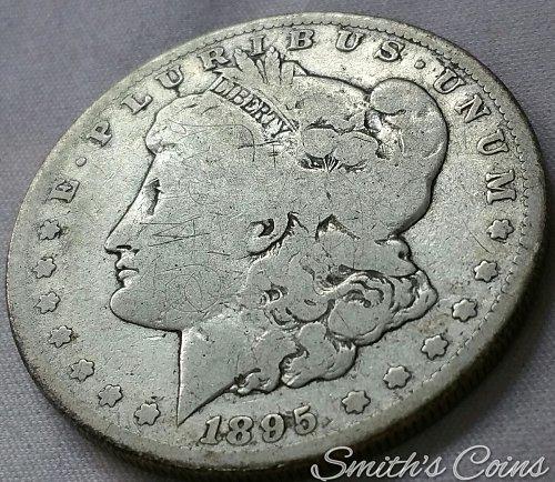 1895 S Morgan Dollar - Net AG