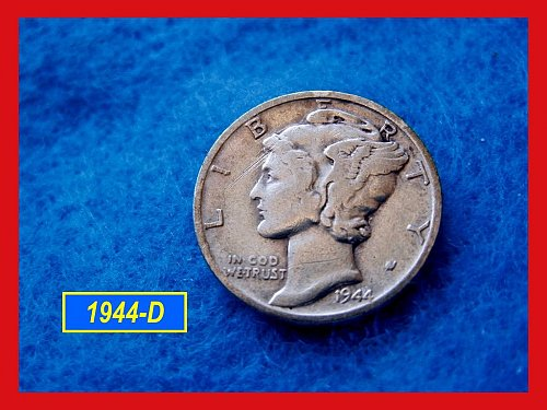1944-D   Mercury Dime  •  (#3285)