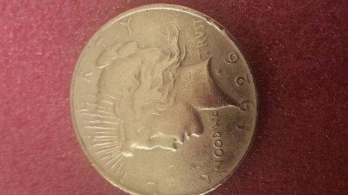 very nice peace Silver Dollar 1926 D
