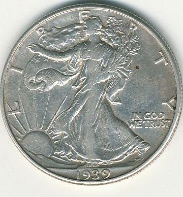 a very nice hy grade 1939D walking liberty half