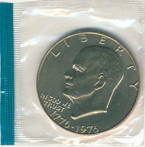 1776-1976 Copper clad Variety one Eisenhower dollar Mint Cello