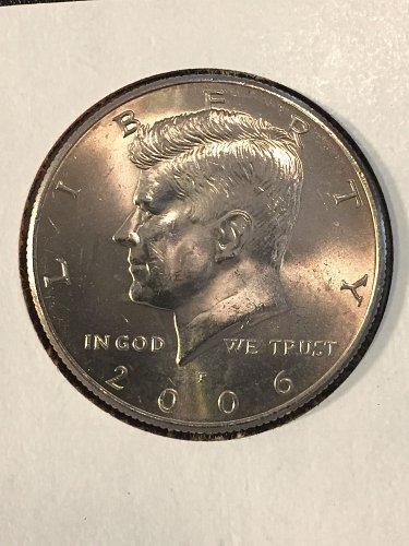 2006 P Kennedy Half Dollar
