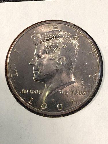 2006 D Kennedy Half Dollar