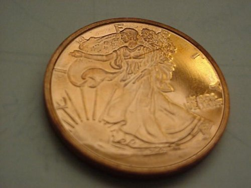 2012  1 oz copper