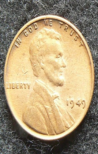1949 P Lincoln Wheat Cent (AU55)
