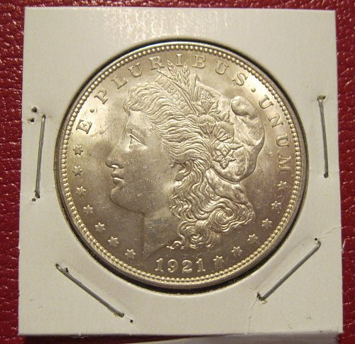 1921-P Morgan Silver Dollar,  NICE UNCIRCULATED COIN!!! BU