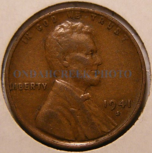 1941-S Lincoln Cent Doubled Die DDO-002