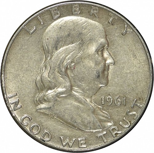 1961 D Franklin Half Dollar,  (Item 289)