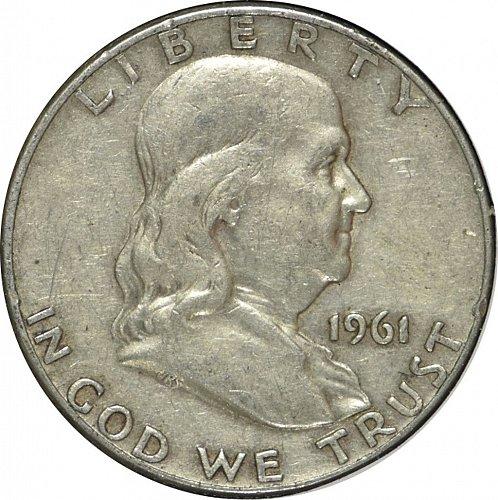 1961 D Franklin Half Dollar,  (Item 293)