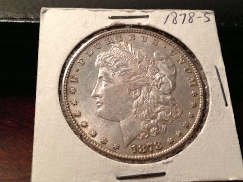 "1878 S/S Morgan Dollar - ""Mint Error"""