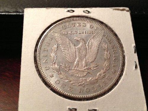 "1878 S/S Morgan Dollar - ""Mint Error"""
