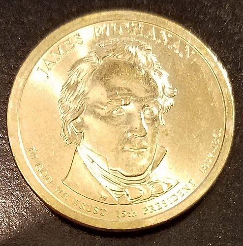 2010-P James Buchanan Presidential Dollar (6539)