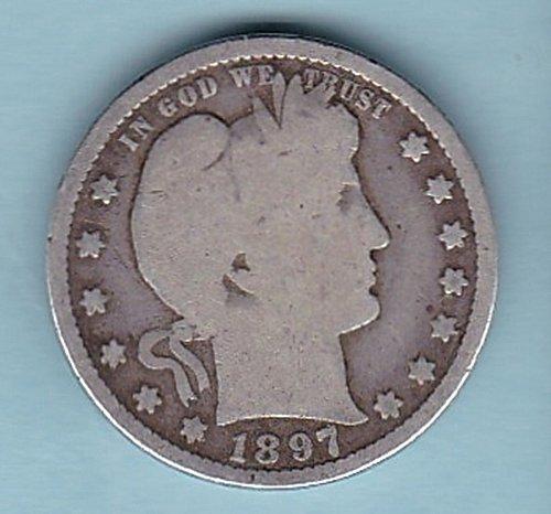 1897 Barber Quarter    ****************************************(#423)