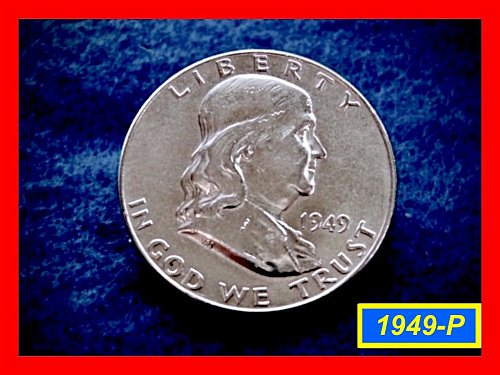 1949-P  Franklin Half Dollar ––– XF-45  FBL 1949    (#1344)