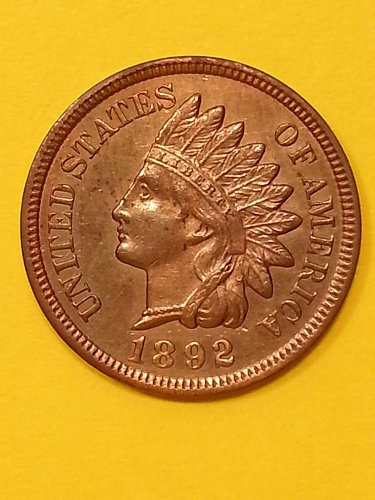 1892 Indian Head Cent