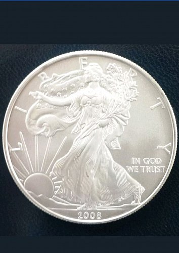 2008 Uncirculated American Silver Eagle