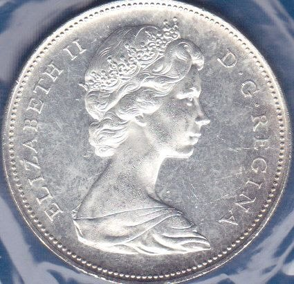 Canadian Dollar 1966