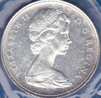 Canadian Dollar 1966