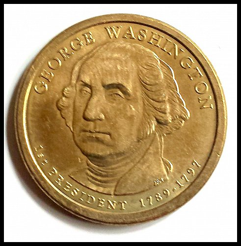 2007 George Washington Brilliant Uncirculated 1st Presidential Dollar