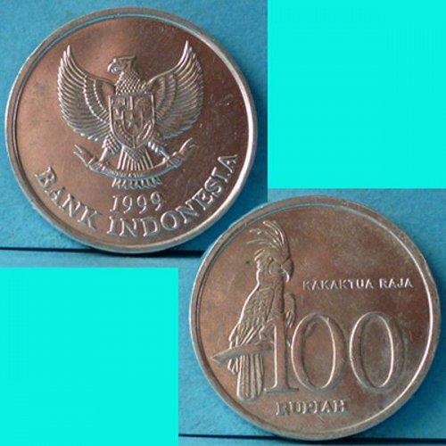 Indonesia 100 Rupiah 1999 km 61