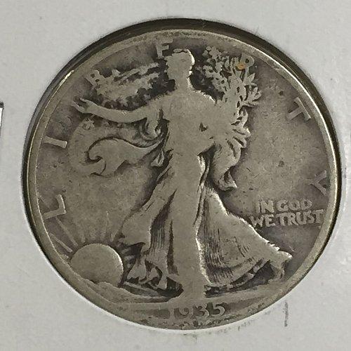 1935-P Walking Liberty Half Dollar (10005)