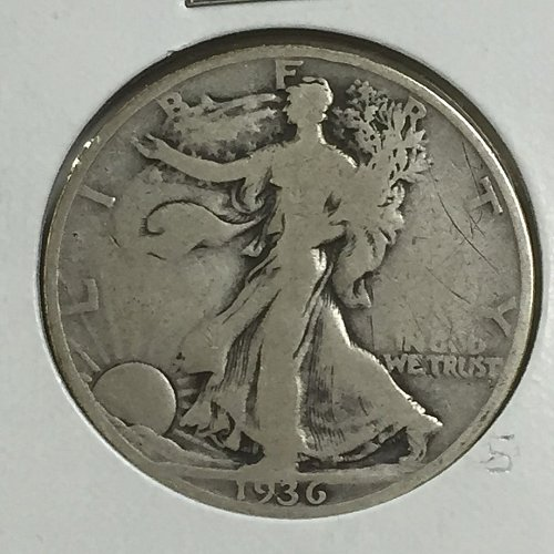1936-P Walking Liberty Half Dollar (10007)