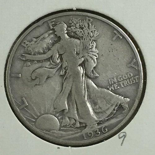 1936-D Walking Liberty Half Dollar (10009)
