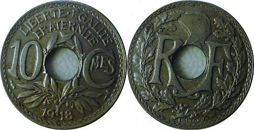 France 1918 10 Centimes