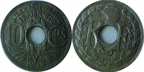 France 1919 10 Centimes