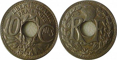 France 1920 10 Centimes